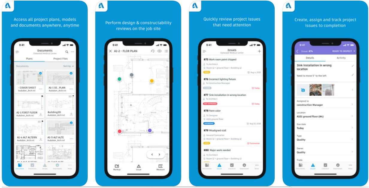 12 best construction apps in 2019 for innovative managers - updated