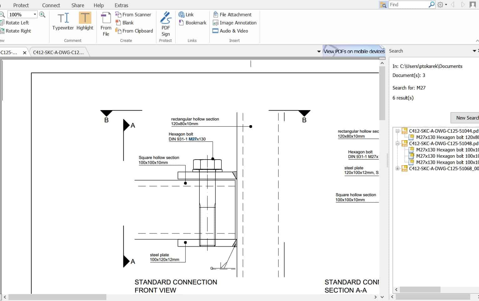Construction Management Software - How to search through