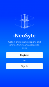 iNeoSyte-Daily-Reports-App-splash-screen